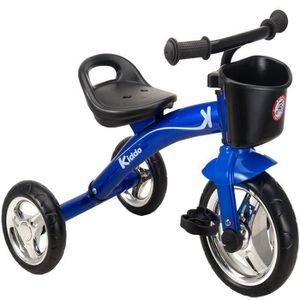 DRAISIENNE Kiddo Trike Bleu 3 Roues Smart Design Enfants Tric