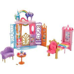 POUPÉE Barbie Mobilier Château Dreamtopia Arc-en-Ciel, Ma