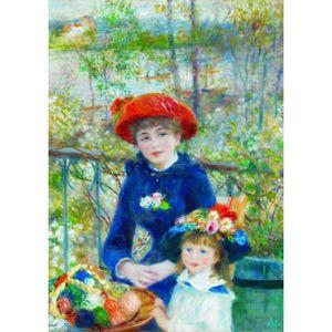 PUZZLE Puzzle 1000 pièces Renoir Auguste: Deux Soeurs sur