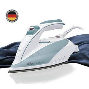 Braun TS515 Fer /à repasser  avec R/éservoir Blanc//Turquoise  2000 W