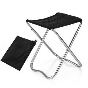 la randonn/ée Les Voyages Tabouret de Camping Pliant Portable t/élescopique pour la p/êche Les activit/és de Plein air