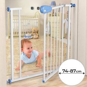 BARRIÈRE DE SÉCURITÉ  Barrière de Sécurité Bébé, Enfant | Ouverture 74-8