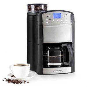 CAFETIÈRE Klarstein Aromatica Combiné Machine & moulin à caf