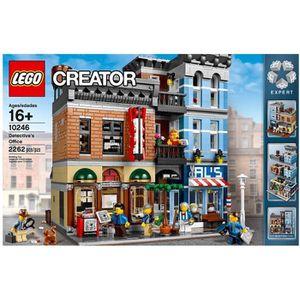 ASSEMBLAGE CONSTRUCTION LEGO® CREATOR 10246 Le Bureau Du Détective