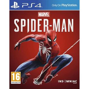 JEU PS4 Marvel's Spider-Man PS4 + 1 dual shock officiel so