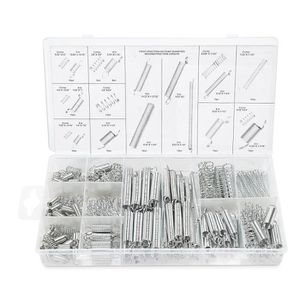 200 pièces Assortiment de ressorts réglés compression ressort de tension Kit
