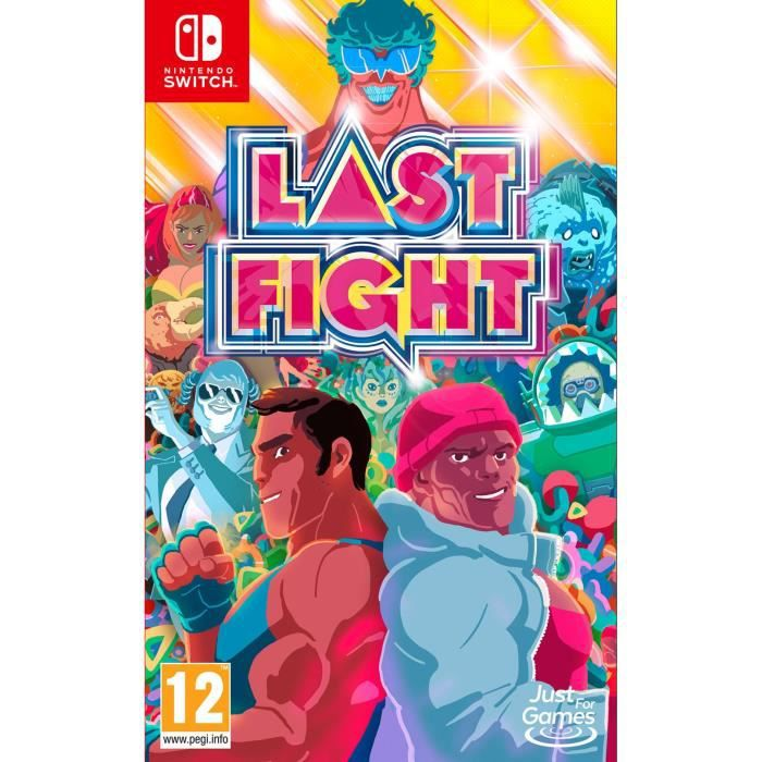 Last Fight Jeu Switch