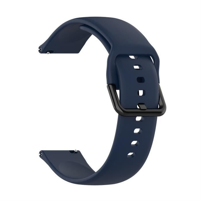 MONTRE OUTDOOR Bracelet de montre de remplacement en silicone pour Samsung Galaxy Watch Active 2 bg1729 SDF1729