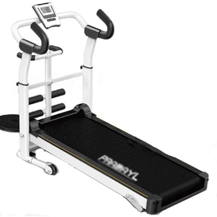 Tapis De Course Pliable Et Silencieux, Tapis Roulant Tapis De Marche Mécanique Treadmill Walk Machine Fitness Machine, Écran LCD, In