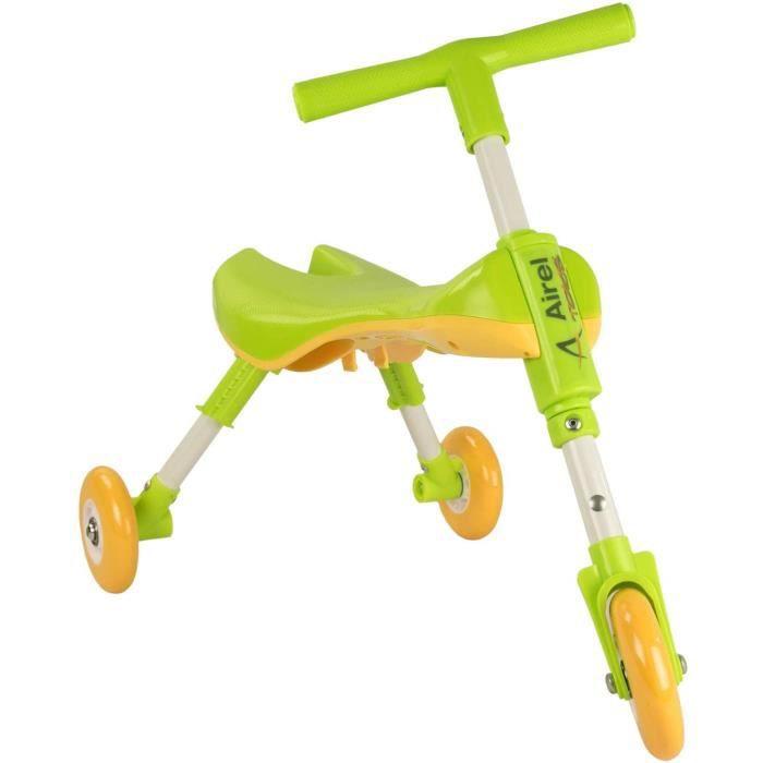 Draisienne Pliable - Porteur Enfant - Tricycle sans Pedale - Balance Bike - Balance Bike Pliable - Trotteur - De 1 à 3 Ans