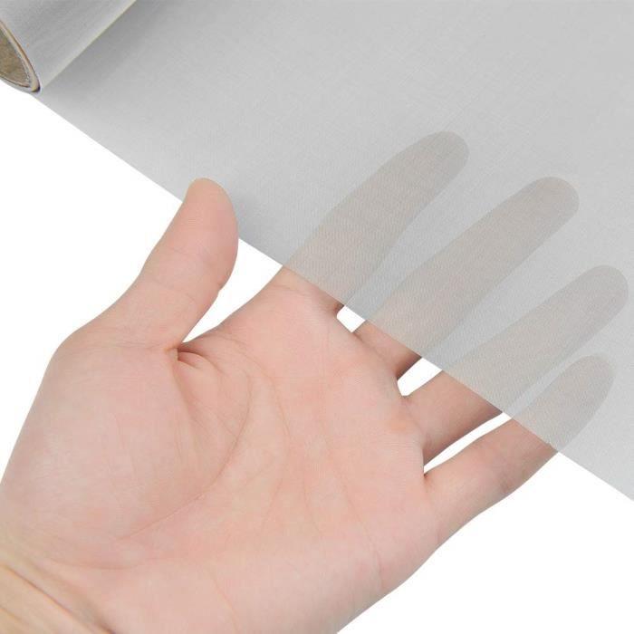 30 x 100 cm Tissu de Treillis métallique, Maille d'acier Inoxydable 304 Filtration en Feuilles Filtre d'écran