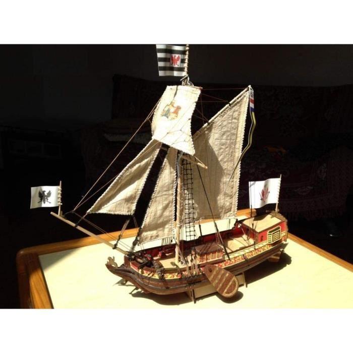Kits de modélisme de bateaux SIourso Modèle De Bateau Kits De Modélisme De Bateaux Livraison Gratuite Échelle 1-80 Le Mo 92621