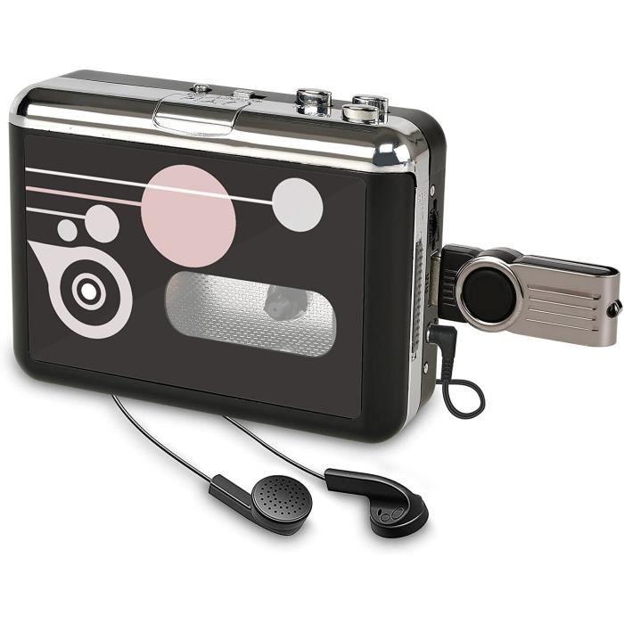 RADIO CD Rybozen Lecteur de Cassette Autonome Audio numeacuterique USB MusiqueCassette vers MP3 Converter avec OTG Enregistrer s323