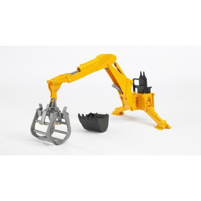 BRUDER - Bras hydraulique avec fourche - 29 cm