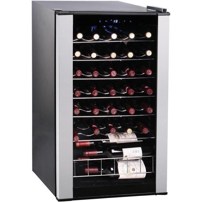 CLIMADIFF CLS33A - Cave à vin de service - 33 bouteilles - Pose libre - Classe B - L 48 x H 83,5 cm