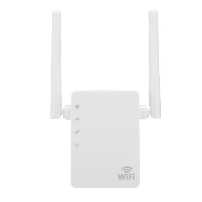 Répteur WIFI Amplificatuer de Signal à Double Antenne 300 Mbps (UE)