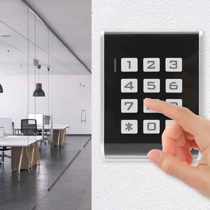 Clavier rétroéclairé 13.56MHZ RFID de carte d'identité de mot de passe de Systerm de contrôle d'accès de porte pour Wiegand26-TIP