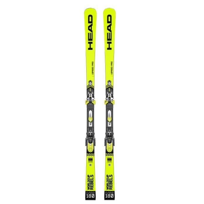 Pack Ski Head Wc Rebels I.speed Pro Sw + Fixations Ff Evo 16