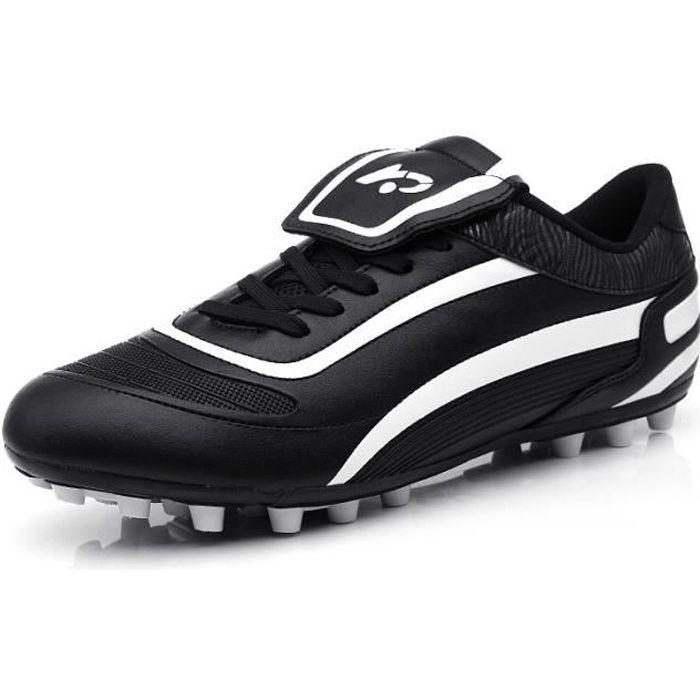 Chaussures de football enfant AG Chaussures et crampons de football adultes hommes Chaussure de Foot Antidérapant pour garçon