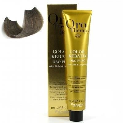 color keratin oro puro n°7.1 blond cendre 100 ml