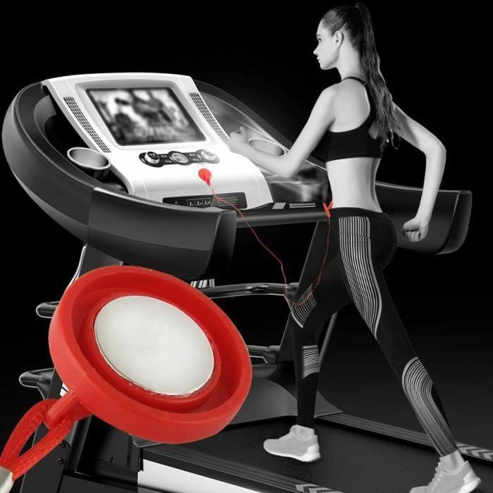 Clé de sécurité universelle pour tapis roulant de course clé de sécurité interrupteur d'arrêt magnétique serrure Fitness