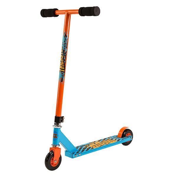 Trottinette Street Surfing Stunt Scooter - Trickster Blue Orange