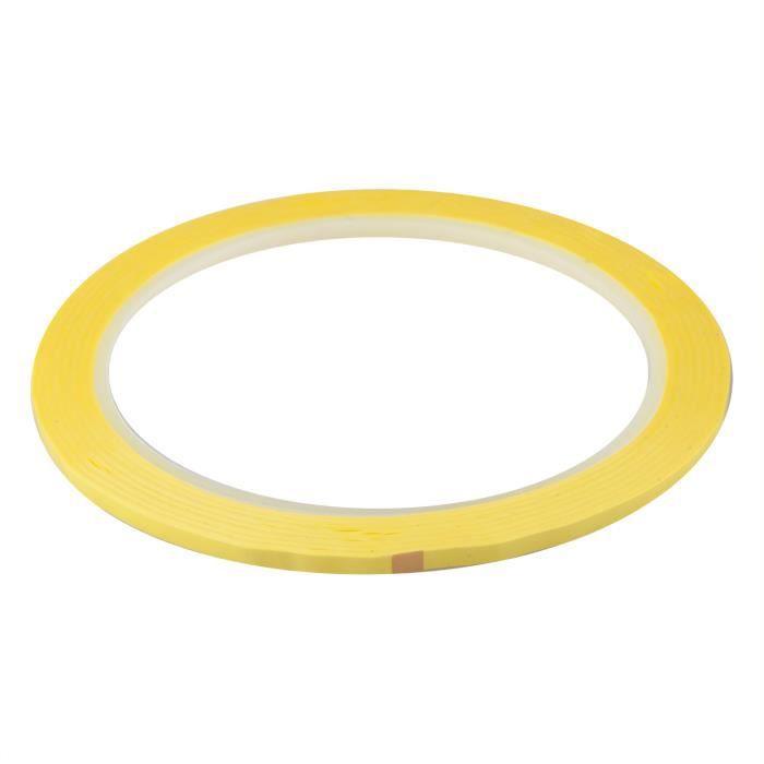 TRIXES Ruban adhésif jaune de 40m pour tableau blanc