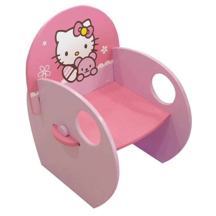 fauteuil en bois hello kitty achat vente chaise tabouret b b fauteuil en bois hello kitty. Black Bedroom Furniture Sets. Home Design Ideas
