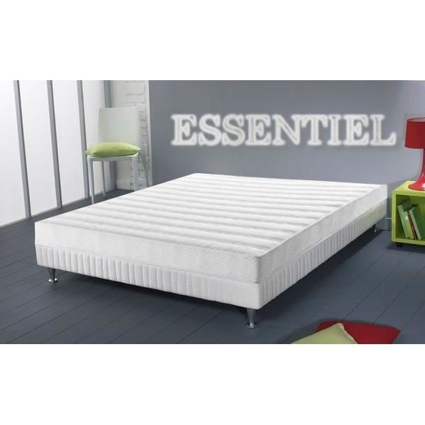 matelas ergonomie m moire de forme 140x190 2 per achat vente matelas cdiscount. Black Bedroom Furniture Sets. Home Design Ideas