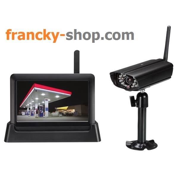 vid osurveillance sans fil connexion reseau achat. Black Bedroom Furniture Sets. Home Design Ideas