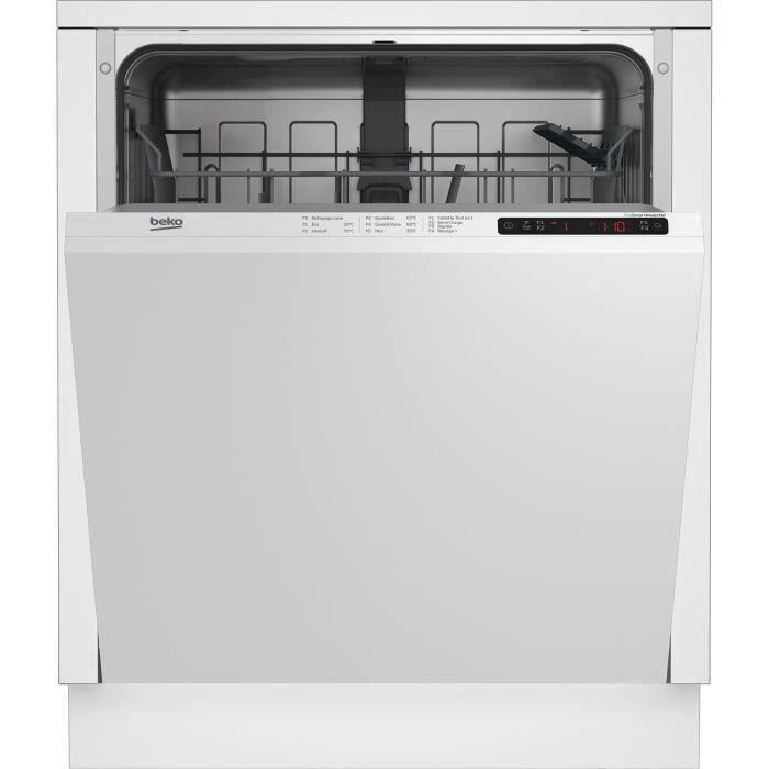 Beko Lvi72f Lave Vaisselle Encastrable 13 Couverts 46db A Larg60cm