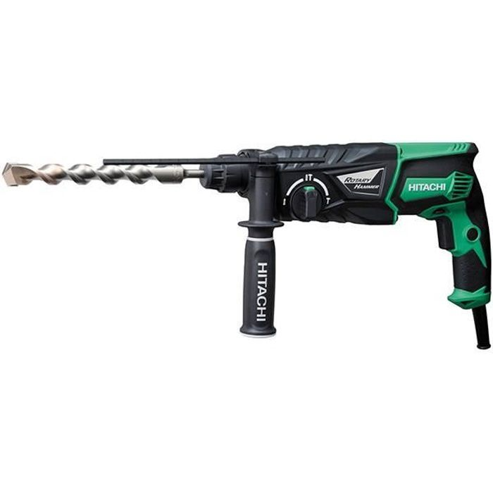 Perforateur-Burineur HITACHI SDS+ 830W 3,2 Joul…