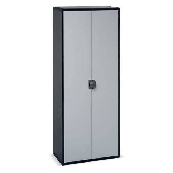 armoire haute en r sine 2 portes achat vente etabli. Black Bedroom Furniture Sets. Home Design Ideas