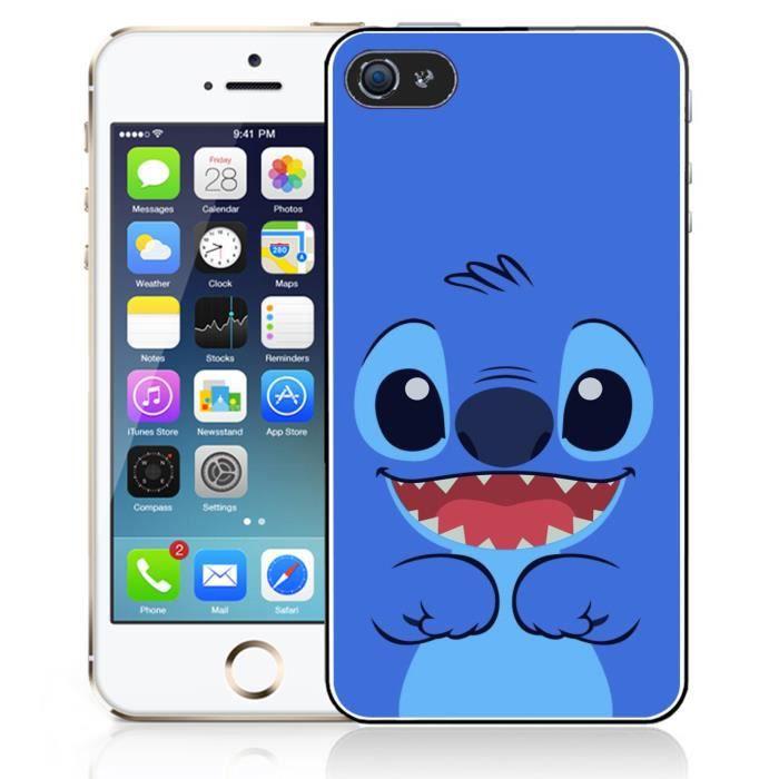 coque iphone 4 4s stitch bleu