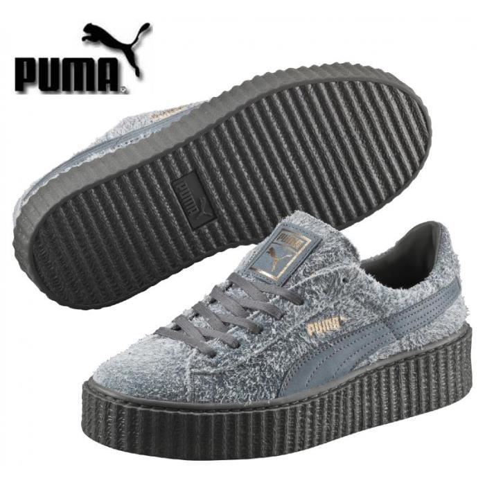 puma creepers suede grise