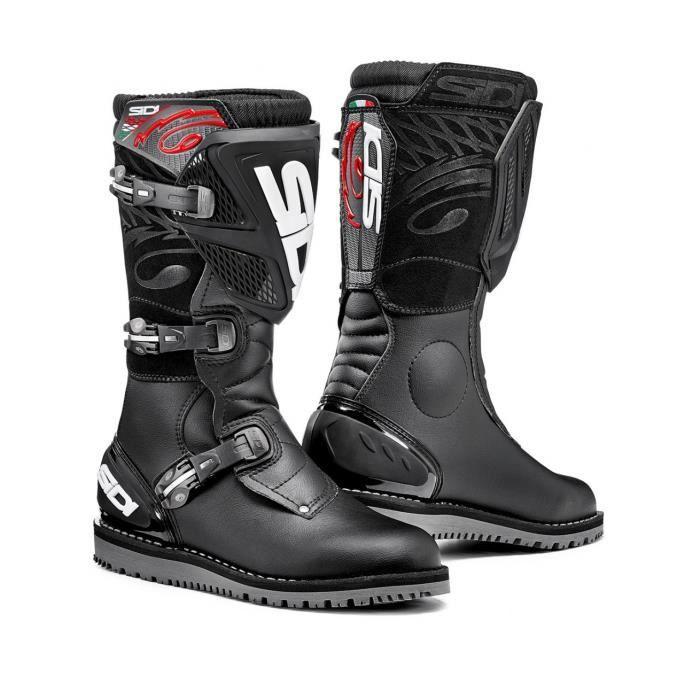 Bottes MX trial Sidi Zero 1 Noir Achat Vente chaussure