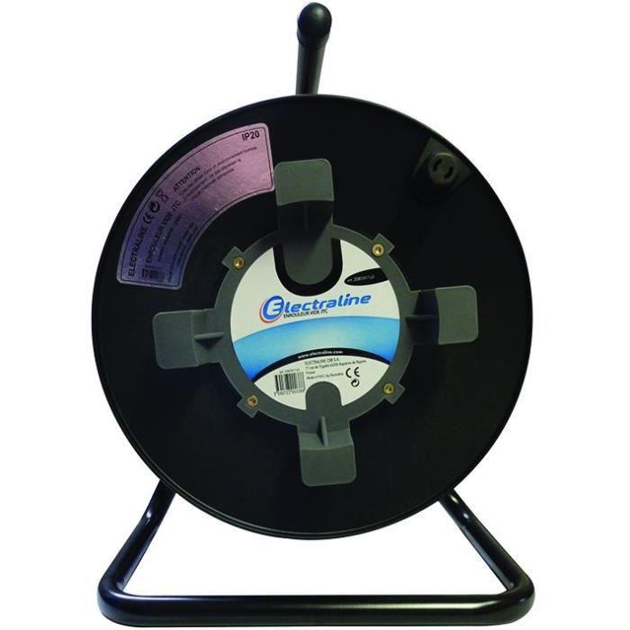Enrouleur Cable électrique Vide Jtc Achat Vente Enrouleur Enrouleur Cable électrique Vid Cdiscount