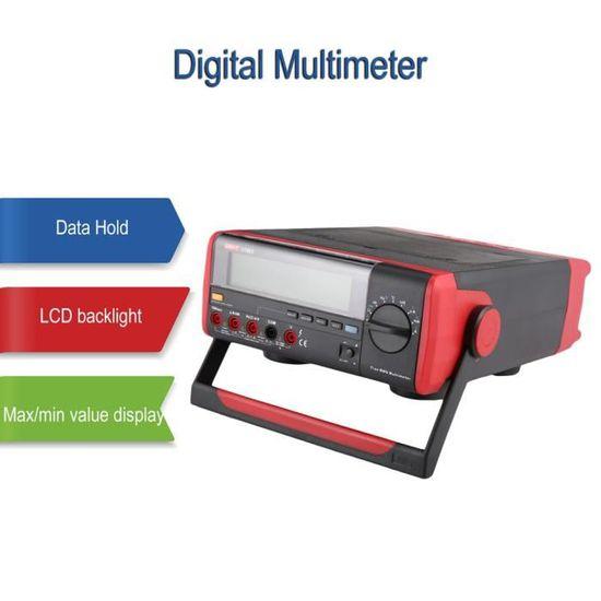 Uni T Ut803 Multimetre Numerique De Table Testeur De Voltmetre Dc