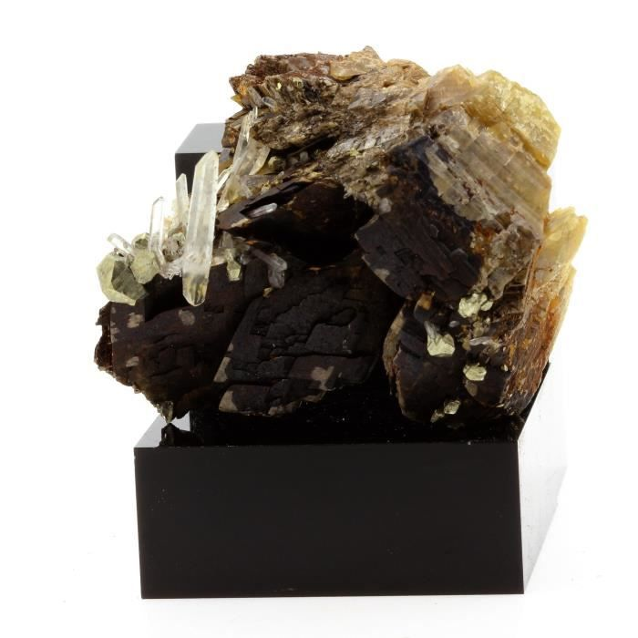Pierre-Siderite, Quartz, Pyrite. 578.8 ct. Mésage Mine, Vizille, France. Rare