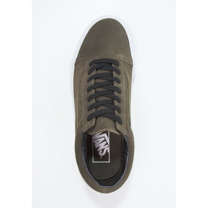 Baskets Vans Chaussures OLD SKOOL PERF SUEDE KAKI