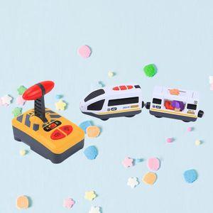 VOITURE À CONSTRUIRE Électrique Télécommande Train jouet Enfants Drôle