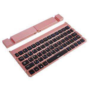 CLAVIER D'ORDINATEUR Pliable pliant mini clavier sans fil Bluetooth pou