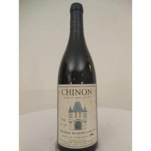 VIN ROUGE chinon château de saint-louan rouge 1996 - loire -