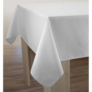 nappe blanche anti tache table de cuisine. Black Bedroom Furniture Sets. Home Design Ideas