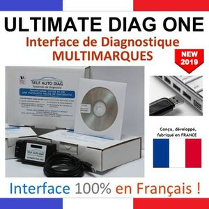 OUTIL DE DIAGNOSTIC Valise diagnostic multimarques ULTIMATE DIAG ONE -