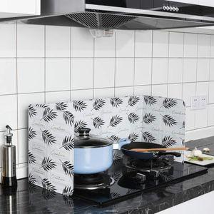 ANTI-PROJECTION  1 pc Cuisine Grease Aluminium Feuille Isolant Bloc