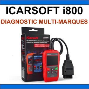 OUTIL DE DIAGNOSTIC ICARSOFT i800 Valise Diagnostique Multimarque Auto