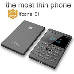 Téléphone portable Mini Téléphone Portable Ultra-mince Carte Téléphon