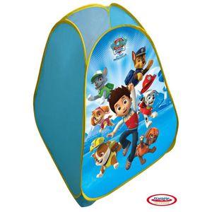 TENTE TUNNEL D'ACTIVITÉ PAT PATROUILLE - Tente enfant pop-up 80x80x90 cm