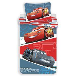 HOUSSE DE COUETTE SEULE Disney Cars Grey Parure de lit Housse de Couette r